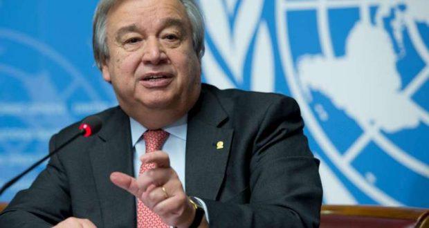 أنطونيو غوتيريس/ الأمين العام للأمم المتحدة