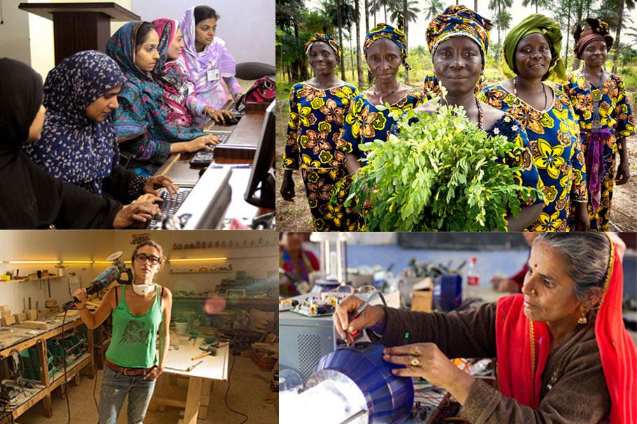 """""""تمكين النساء في عالم العمل المتغير"""""""
