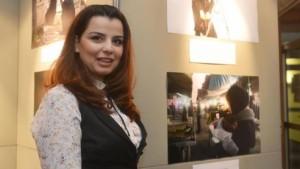 """زينة أرمنازي معرض """"وعد الحرية"""""""