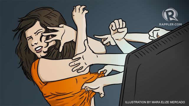 العنف الإلكتروني ضد النساء