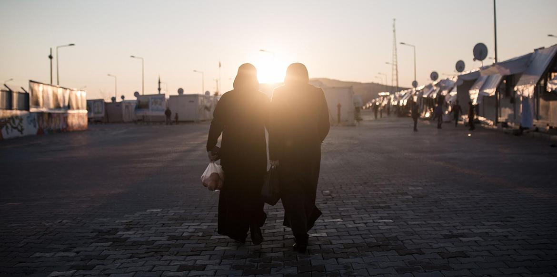 المرأة السورية اللاجئة