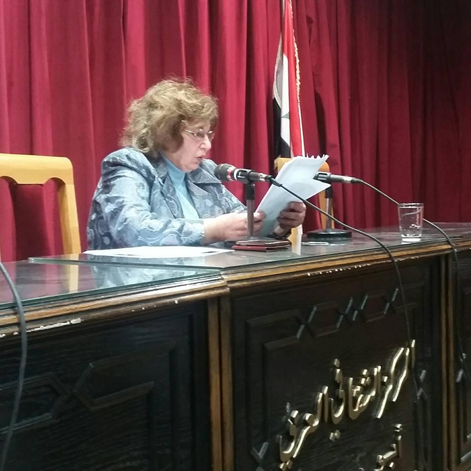 الأديبة وكاتبة الدراما سلمى اللحام