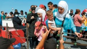 الكثير من النساء السوريات يقمن في بلاد المغترب من دون أزواجهن