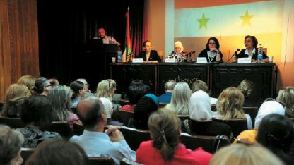 ندوة مركز مداد في المركز الثقافي في أبو رمانة بدمشق