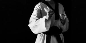 الحزام الأسود في الفنون القتالية