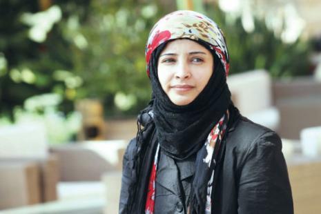 الكاتبة اليمنية بشرى المقطري