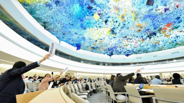 مجلس حقوق الانسان في الأمم المتحدة/ جنيف