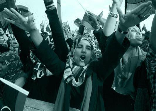 المدافعات عن حقوق الإنسان في ليبيا