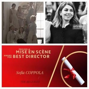صوفيا كوبولا تحصد جائزة أفضل إخراج في مهرجان كان 70