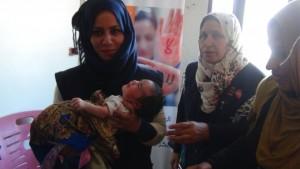 مستفيدات من صندوق الأمم المتحدة للسكان بسوريا