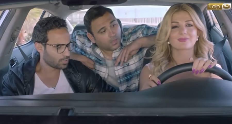 """مشهد من المسلسل الرمضاني """"ريح المدام"""" الذي يعرض على قناة """"النهار المصرية"""""""