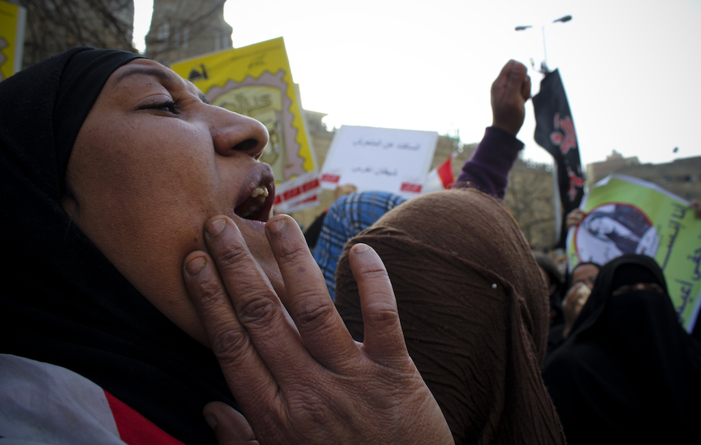 مشاركة نسوية في الربيع العربي