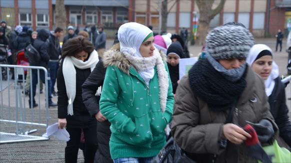 لاجئات في ألمانيا/ أرشيف