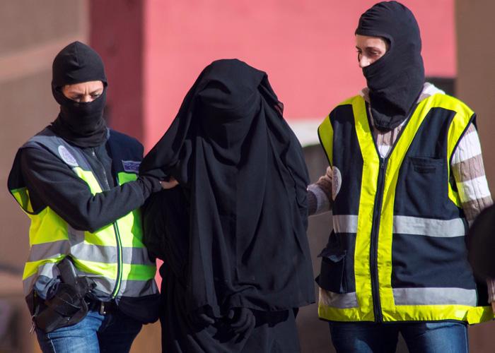 ظاهرة النساء الجهاديات