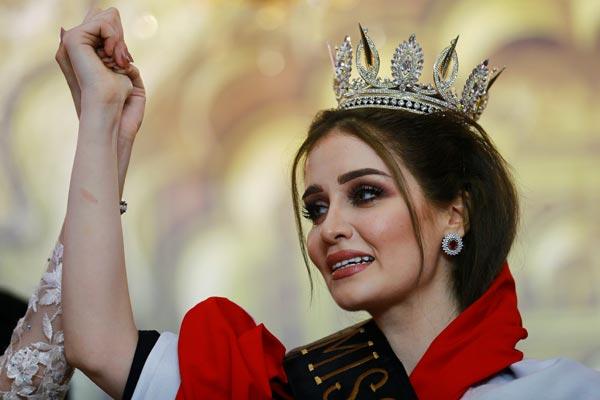 فيان سليماني ملكة جمال العراق 2017