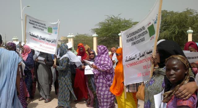 تظاهرة ضد الاغتصاب في القانون الموريتاني/ أرشيف