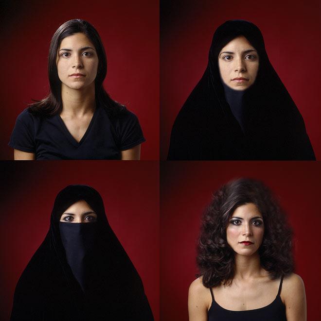 النساء اليمنيات والحجاب/ تصوير بشرى المتوكل