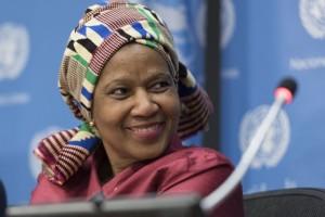 بومزيلي ملامبو - نوكا المديرة التنفيذية لهيئة الأمم المتحدة للمرأة