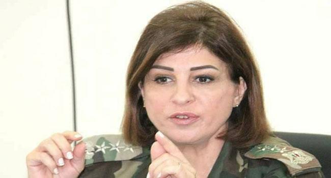 نبال مدحت بدر / لواء في الجيش السوري