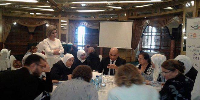 ورشة عمل في دمشق حول مشاركة المرأة في إحلال الأمن والسلام بالمجتمع/ سانا