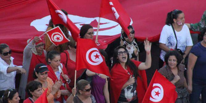 المرأة التونسية تنشط للمطالبة بحقوقها/ أرشيف