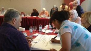 تمكين المرأة ومشاركتها في تعزيز الأمن والسلام/ شبكة المرأة السورية