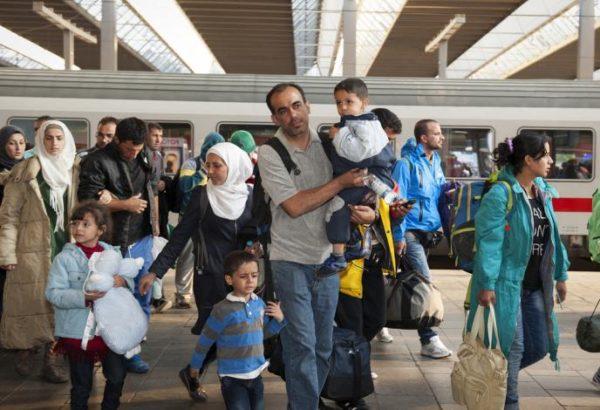وصول دفعة من اللاجئين السوريين إلى ألمانيا/ أرشيف