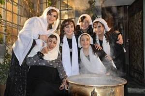"""المراة السورية في مسلسل """"باب الحارة"""""""