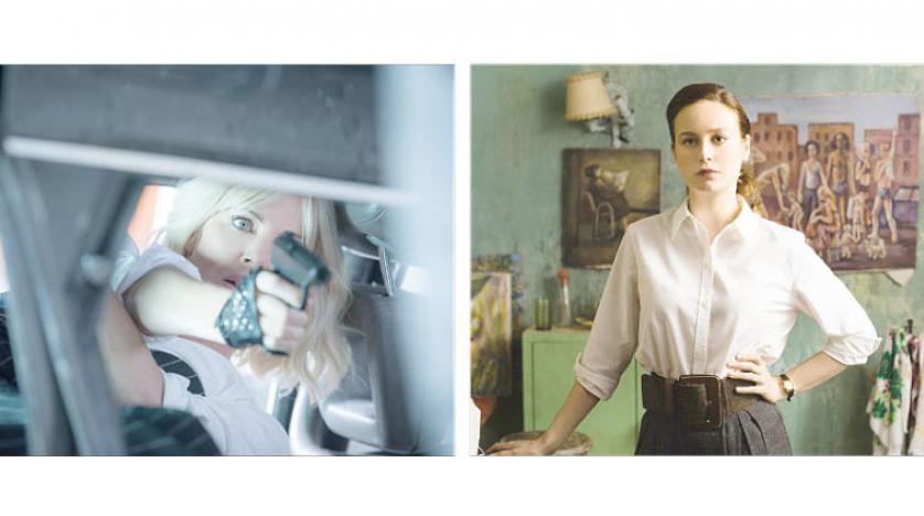 بري لارسن في فيلم «الحصن الزجاجي» & تشارليز ثيرون في فيلم «أتوميك بلوند»