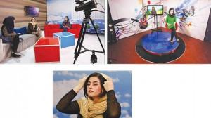 """محطة """"زان"""" التلفزيونية الخاصة بالمرأة الأفغانية"""