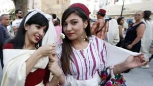 من احتفالات العيد الوطني للمرأة في تونس