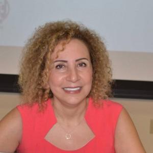 لمى قنوت (ناشطة سياسية ونسوية سورية / المنسّقة العامة لتجمّع سوريات من أجل الديمقراطية)