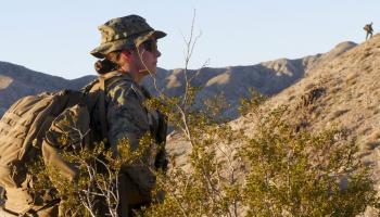 أول امرأة لمنصب قائد وحدة قوات في المارينز