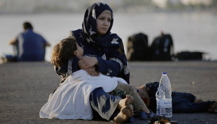 لاجئة سورية - موقع السيدة