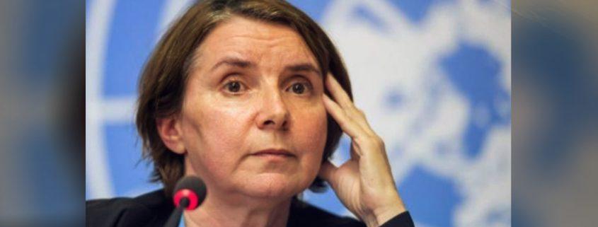 القاضية الفرنسية المكلفة بالتحقيق بجرائم الحرب بسورية كاترين مارشي أوهيل
