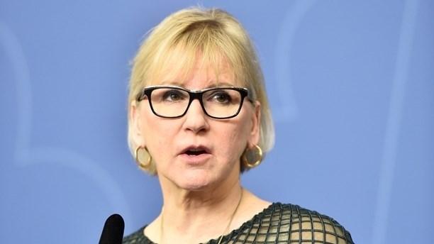 الوزيرة السويدية مارغوت فالستروم