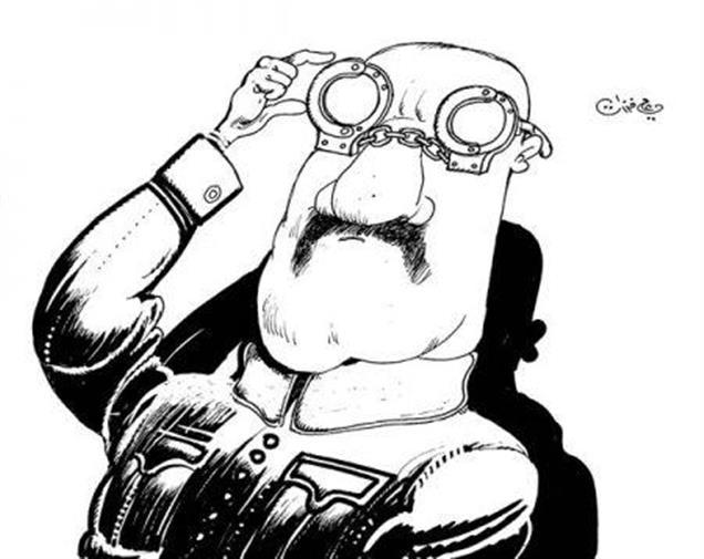 كاريكاتير لعلي فرزات