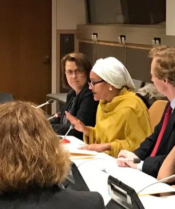 نائبة الأمين العام للأمم المتحدة أمينة محمد