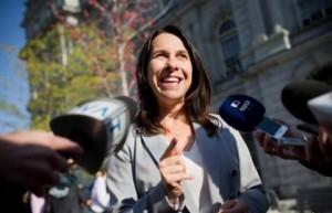 فاليري بلانت، 43 عاماً، رئيسة لبلدية مونتريال