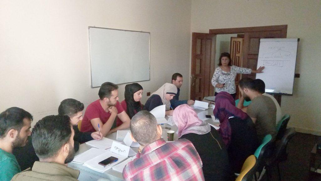 جلسة توعية حول القرار 1325/ الرابطة السورية للمواطنة