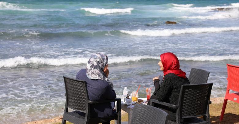 مقاهي مخصصة للمرأة في ليبيا