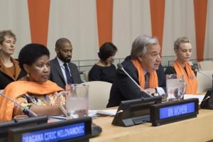 فعالية بالأمم المتحدة بمناسبة اليوم الدولي للقضاء على العنف ضد المرأة/ اللون البرتقالي