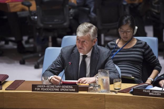 جون بيير لاكروا، رئيس إدارة الأمم المتحدة لعمليات حفظ السلام /الأمم المتحدة