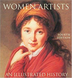 """غلاف كتاب """"نساءٌ رسّامات"""""""