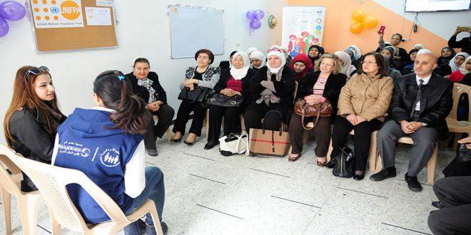 فعاليات جمعية تنظيم الأسرة في حملة 16 يوماً لمناهضة العنف