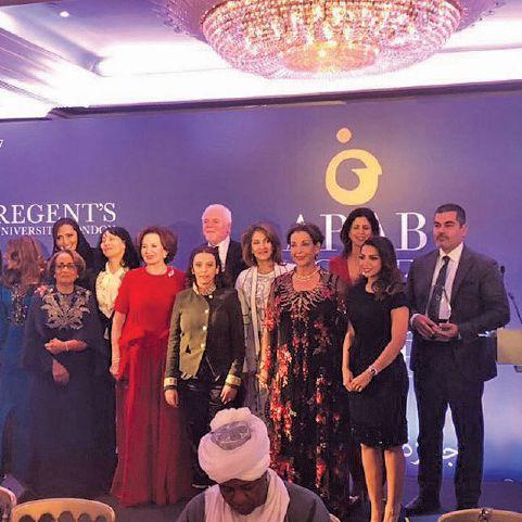 """جائزة المرأة العربية 2017 """"ARAB WOMEN OF THE YEAR"""""""