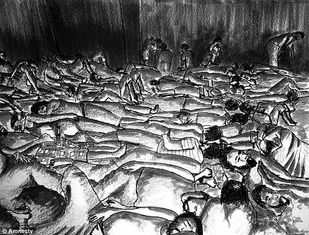 معتقلون محشورون في زنازين مكتظّة في السجون السورية