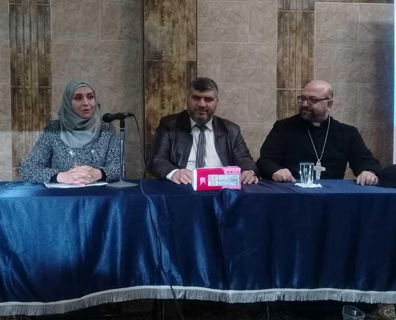 مكانة المرأة في الأديان والمجتمع ندوة مفتوحة بمطرانية السريان الكاثوليك بحماة
