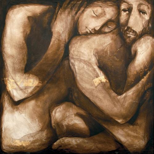 لوحة للفنانة ريما سلمون