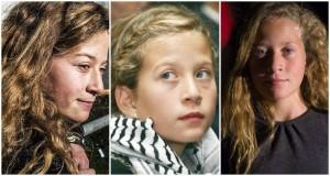 الناشطة الفلسطينية عهد التميمي